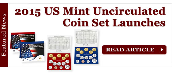 2015 US Mint Uncirculated Coin Set Launches