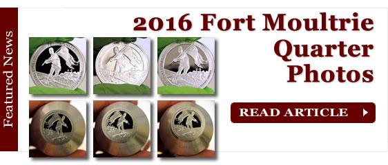 2016 Fort Moultrie Quarter Photos
