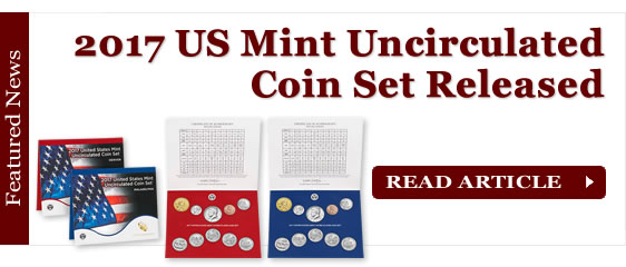 2017 US Mint Uncirculated Coin Set Released