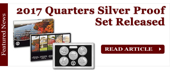 2017 America the Beautiful Quarters in Silver Proof Set