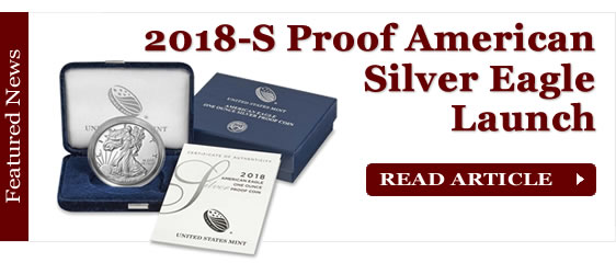 2018-S Proof American Silver Eagle Launch