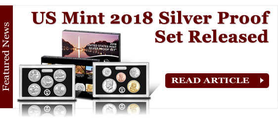 US Mint 2018 Silver Proof Set Released