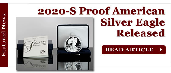 2020-S Proof American Silver Eagle Released