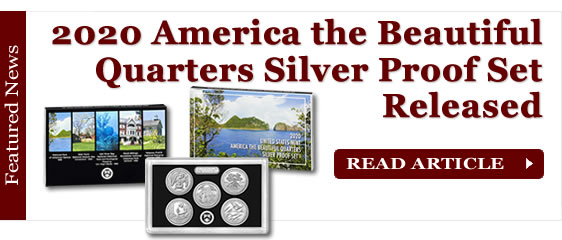 U.S. Mint Releases 2020 America the Beautiful Quarters Silver Proof Set