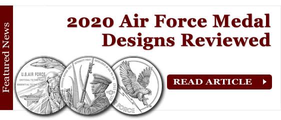 2020 Air Force Medal Designs Reviewed
