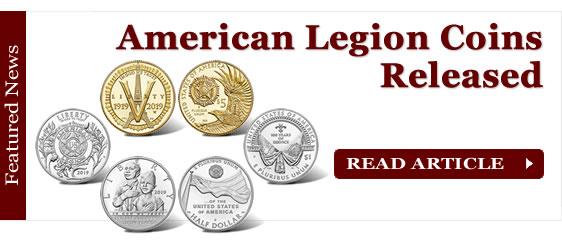 American Legion 100th Anniversary Commemorative Coins Released