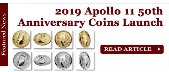 2019 Apollo 11 50th Anniversary Commemorative Coins Launch
