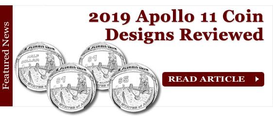 2019 Apollo 11 Commemorative Coin Designs Reviewed