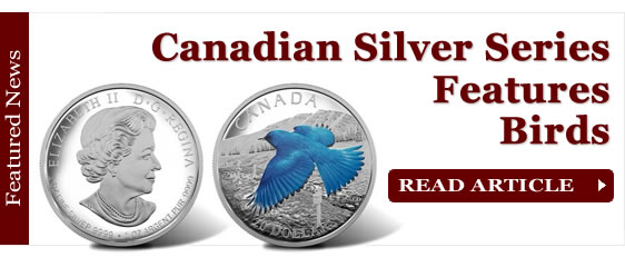 2016 Canadian Silver Coin Series Features Migratory Birds