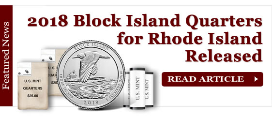 2018 Block Island Quarters for Rhode Island Released