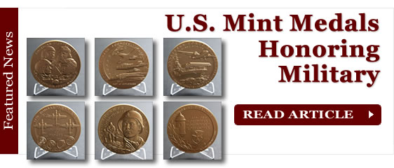 U.S. Mint Medals Honoring Military