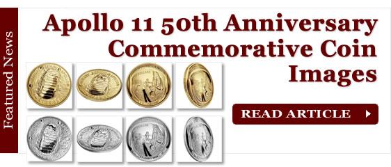 2019 Apollo 11 50th Anniversary Commemorative Coin Images
