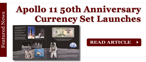Apollo 11 50th Anniversary Currency Set Launches